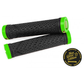 Sixpack K-Trix Lock-On Grips Non Glove, black/liquid-green